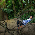Cambodian Jungle Swing by Art Phaneuf