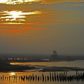 Cambodian Sunsets 1 by Ron Kandt