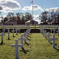 Cambridge American Cemetery by Ashlyn Gehrett