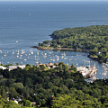 Camden Harbor Maine by Glenn Gordon