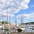 Camden Maine Harbor by Glenn Gordon
