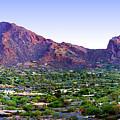 Camelback Mountain, Phoenix, Arizona by Wernher Krutein