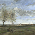 Camille Corot   A Wagon In The Plains Of Artois by PixBreak Art