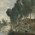 Camille Corot   Landscape At Arleux Du Nord by PixBreak Art
