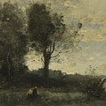 Camille Corot   The Wood Gatherer by PixBreak Art