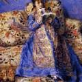 Camille Monet Reading 1872 by Renoir PierreAuguste