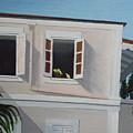 Camille Pissaro Courtyard by Robert Rohrich