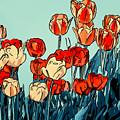 Camille's Tulips - Version 3 by Steve Harrington