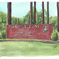 Camp Lejeune Welcome by Betsy Hackett