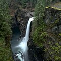 Campbell River Rain Forest Falls by Adam Jewell