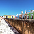 Campeche Wall And City View by Jess Kraft