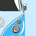 Camper Blue 2 by Michael Tompsett