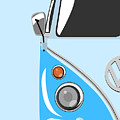 Camper Blue by Michael Tompsett
