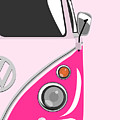 Camper Pink 2 by Michael Tompsett