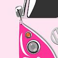 Camper Pink by Michael Tompsett