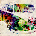 Camper Van Urban Art by Michael Tompsett