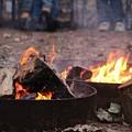 Campfire by Linda James