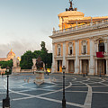 Campidoglio Square In Rome by Anastasy Yarmolovich
