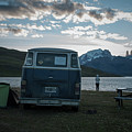 Camping At Torres Del Paine by Fausto Capellari
