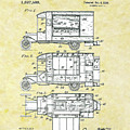 Camping Automobile Patent by Movie Poster Prints