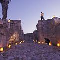 Canaanite Entrance Gate To El Megiddo by Richard Nowitz