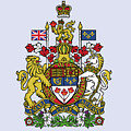 Canada Coat Of Arms by Movie Poster Prints