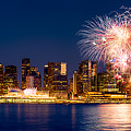 Canada Day 2015 In Vancouver by Alexis Birkill