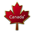 Canada Red Leaf by Movie Poster Prints