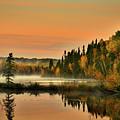 Canadian Autumn Sunrise by Pixabay