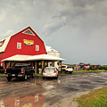 Canadian Farm After Storm by Csaba Demzse