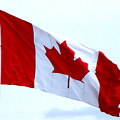 Canadian Flag by Randall Weidner