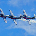 Canadian Forces Snowbirds by Nick Zelinsky