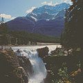Canadian Rockies Cascade by Ron Swonger