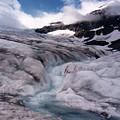 Canadian Rockies Glacier by Stan Roban