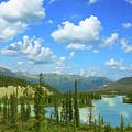 Canadian Rockies In Banff by Ola Allen