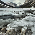 Canadian Rockies Rugged Winter Landscape by Adam Jewell