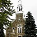 Canadian Rural Church by Deborah Benoit