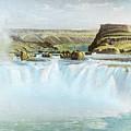 Canadian Water Fall by Douglas Barnett