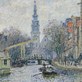 Canal Amsterdam by Claude Monet