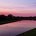 Canal At Sunset by Chris Horsnell