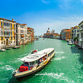 Famous Canal Grande In Venice by JR Photography
