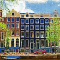 Canal Houses by Tom Reynen