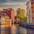 Canal In Bruges by Wim Lanclus