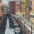 Canal In Venice by Karla Kaizoji Austin