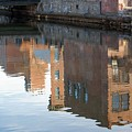 Canal Reflection by Mary McAvoy