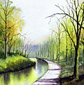 Canal Sowerby Bridge by Paul Dene Marlor