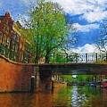 Canals Of Amsterdam by Tom Reynen