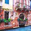 Canals Of Venice # 5 by Mel Steinhauer