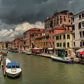 Canals Of Venice 003 by Lance Vaughn