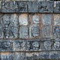 Cancun Mexico - Chichen Itza - Skull Platform by Ronald Reid